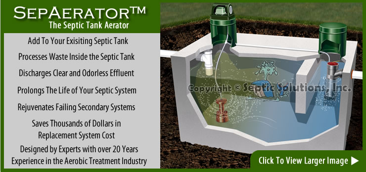 Sepaerator Applications How To Use A Septic Tank Aerator